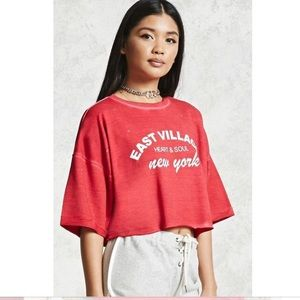 forever 21 crop top